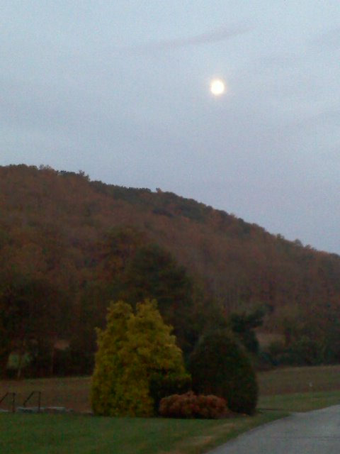 Moon Over the Ridge