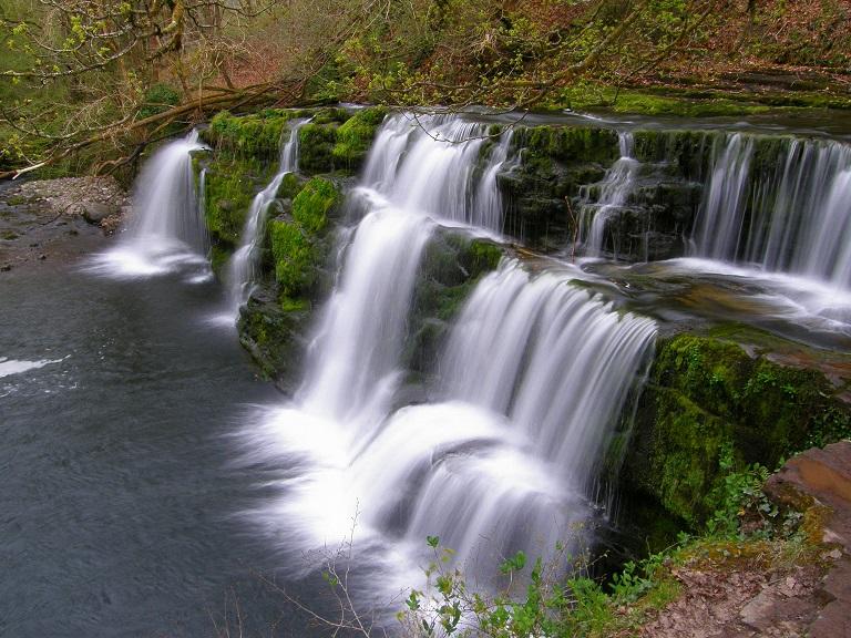 Waterfall Wednesday: Lower Clun-Gwyn