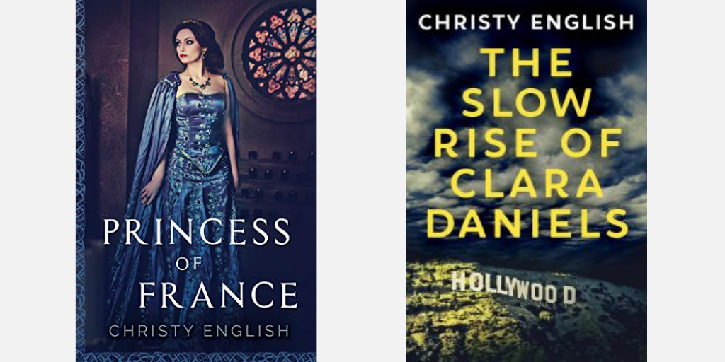 Click here to visit the book listing for Princess of France and The Slow Rise of Clara Daniels