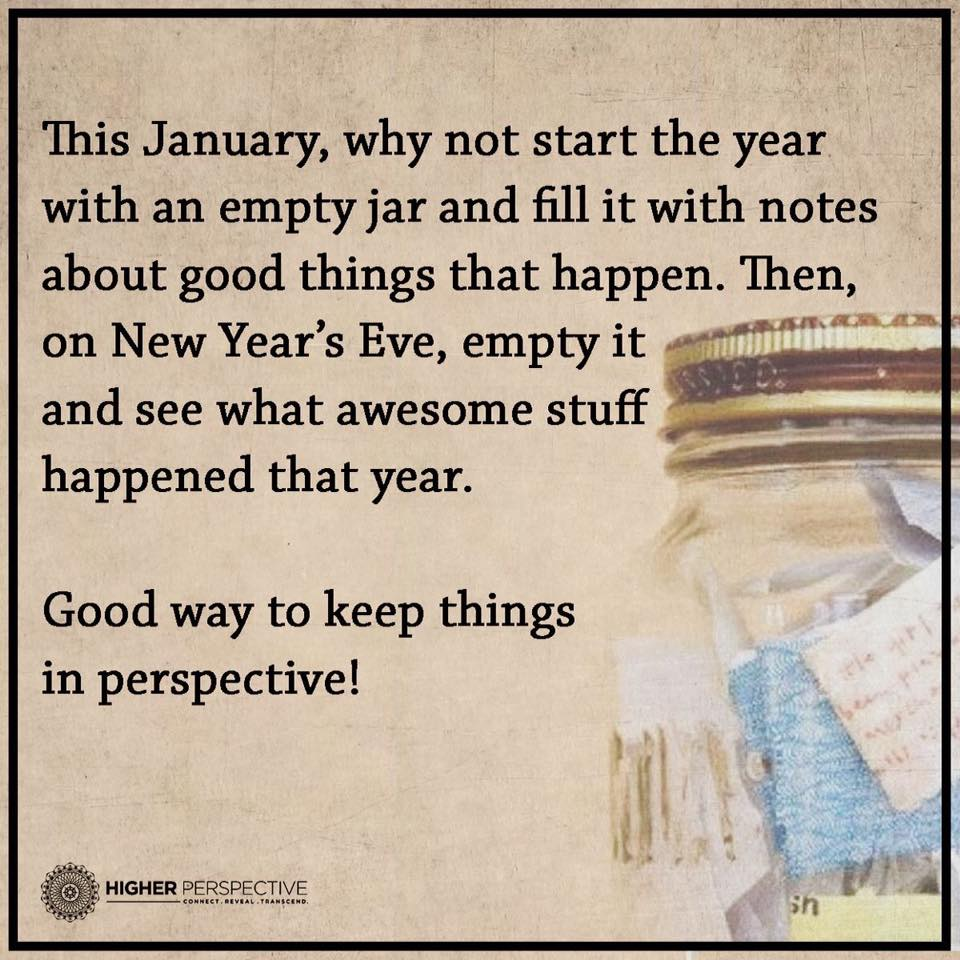 Romantic Things To Do On New Years Eve: Jar Of Good News